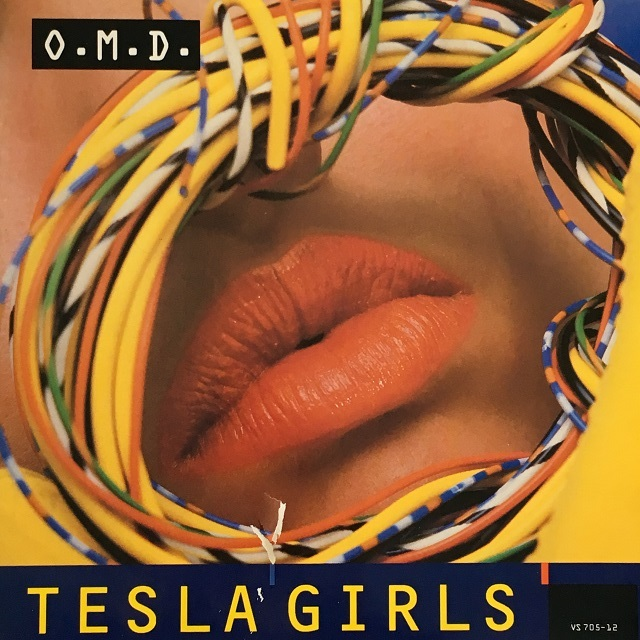 【12inch・英盤】OMD / Tesla Girls