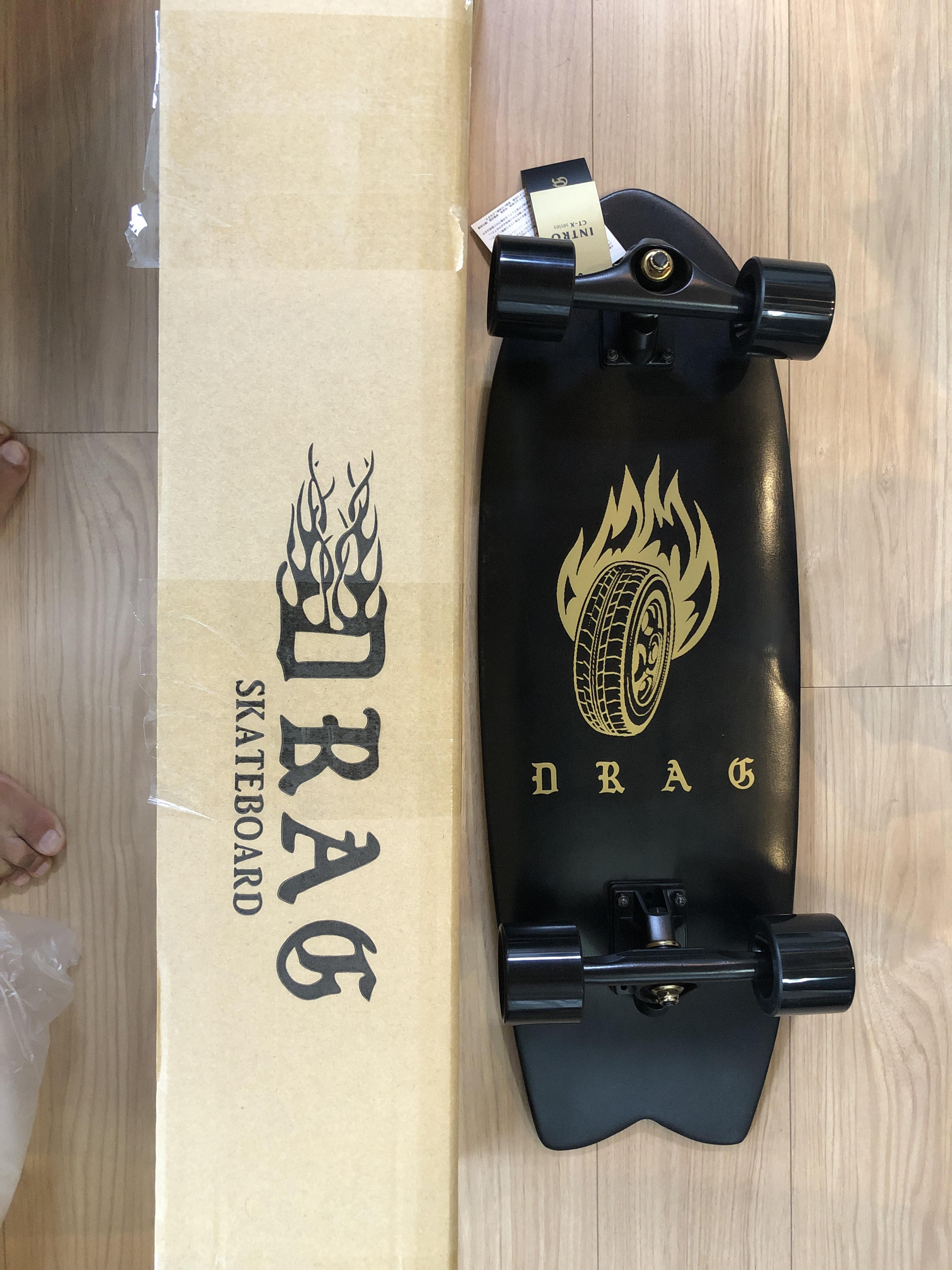DRAG スケートボード 29 FISH(ドラッグスター)