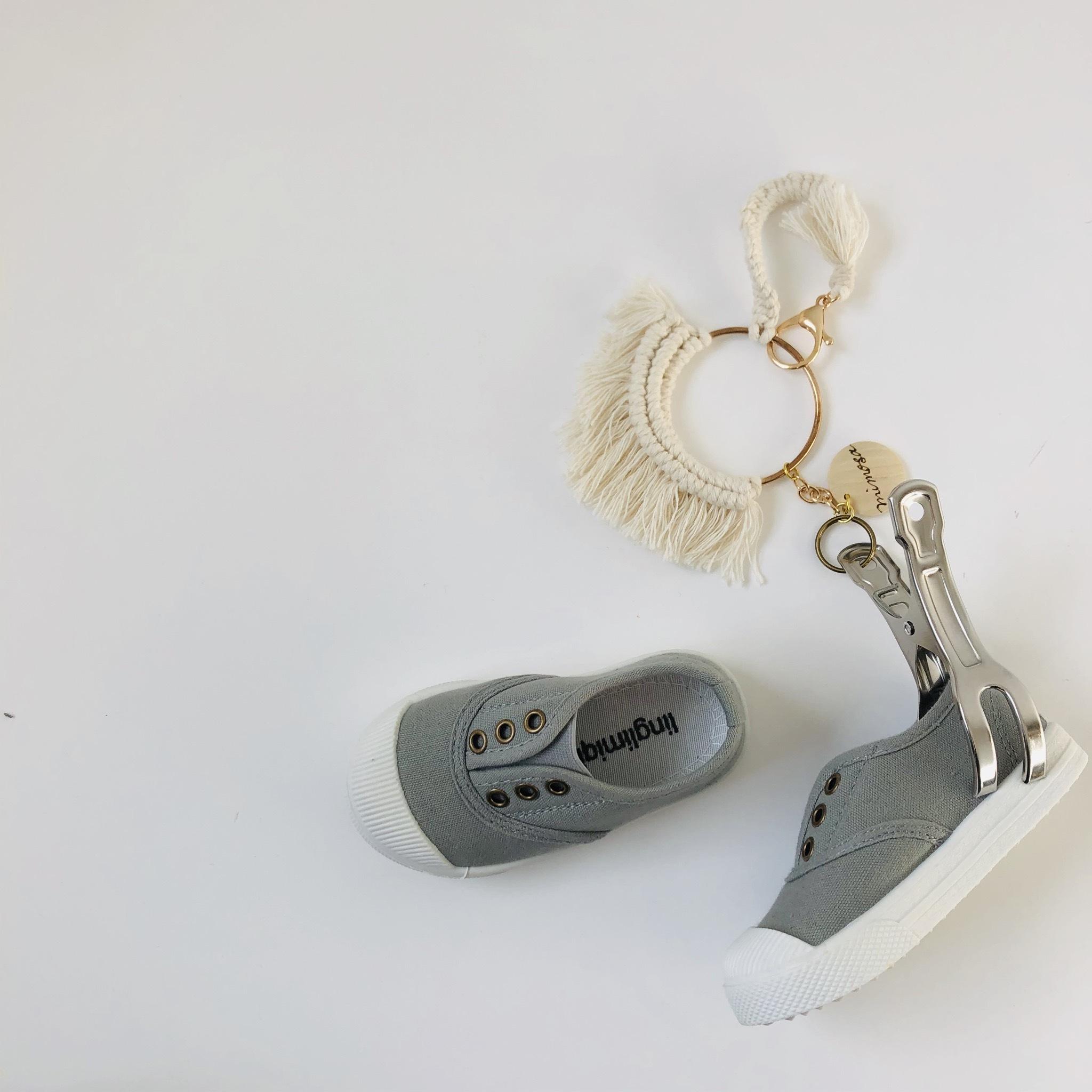 macrame shoes clip