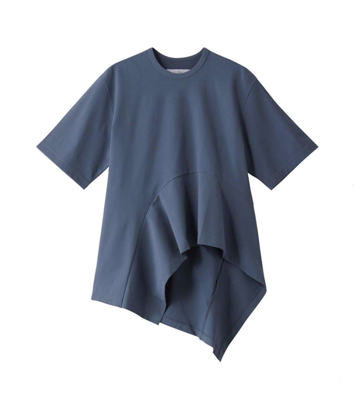【UJOH】《21SS》フレックスジャージーフレアトリミングTシャツ U781T04009