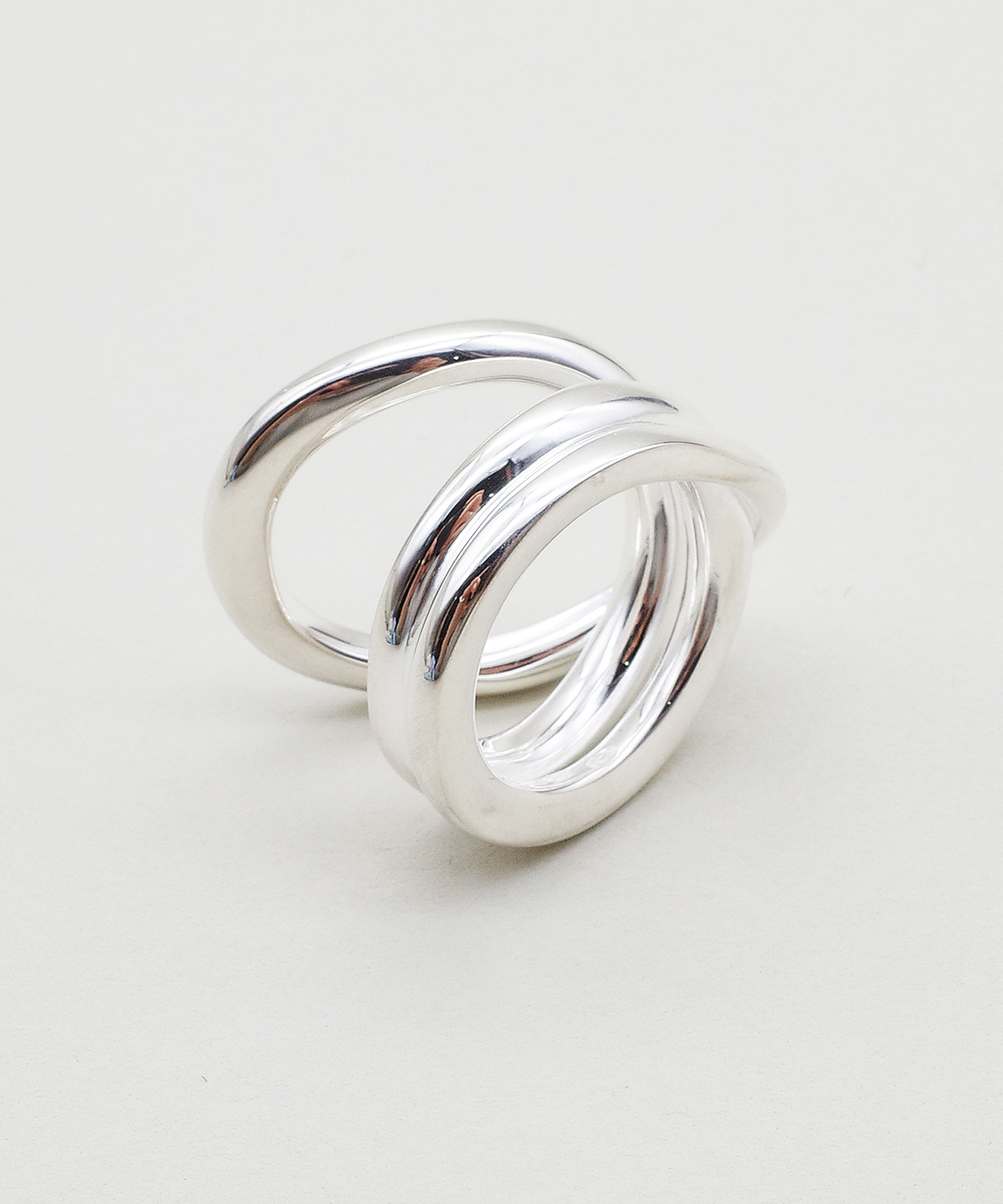 【blanc iris/ ブランイリス】Volute collection Sterling Silver Ring/ リング