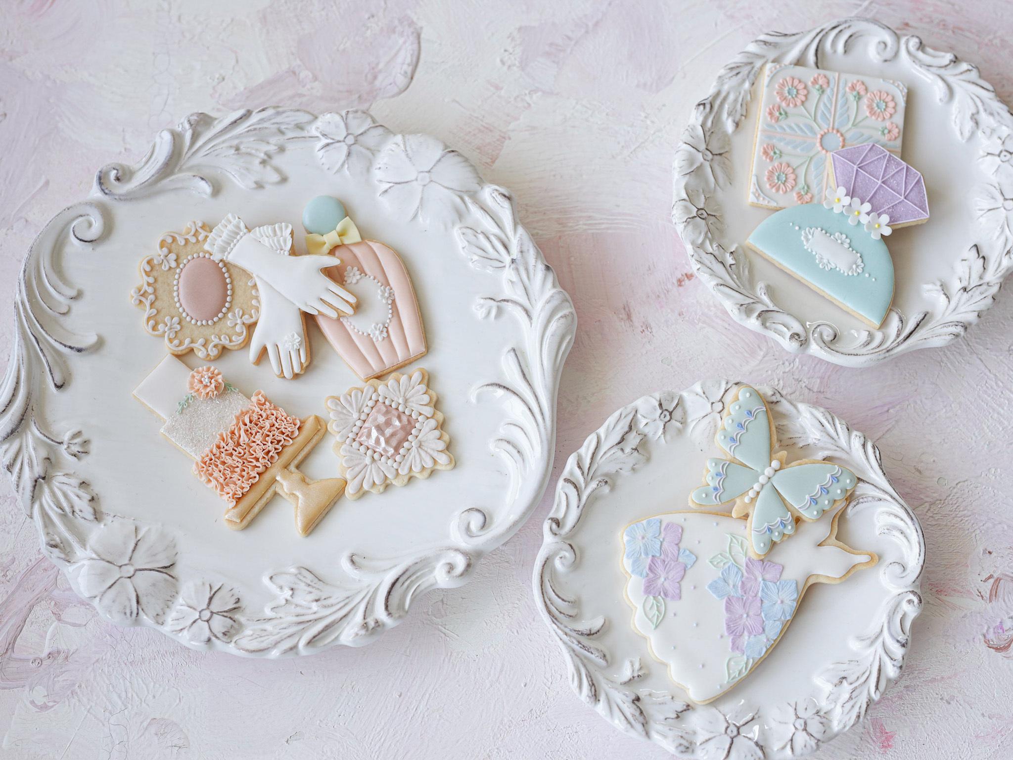 """Monthly"" cookie kit & video lesson April - September 第四週目月曜日発送"