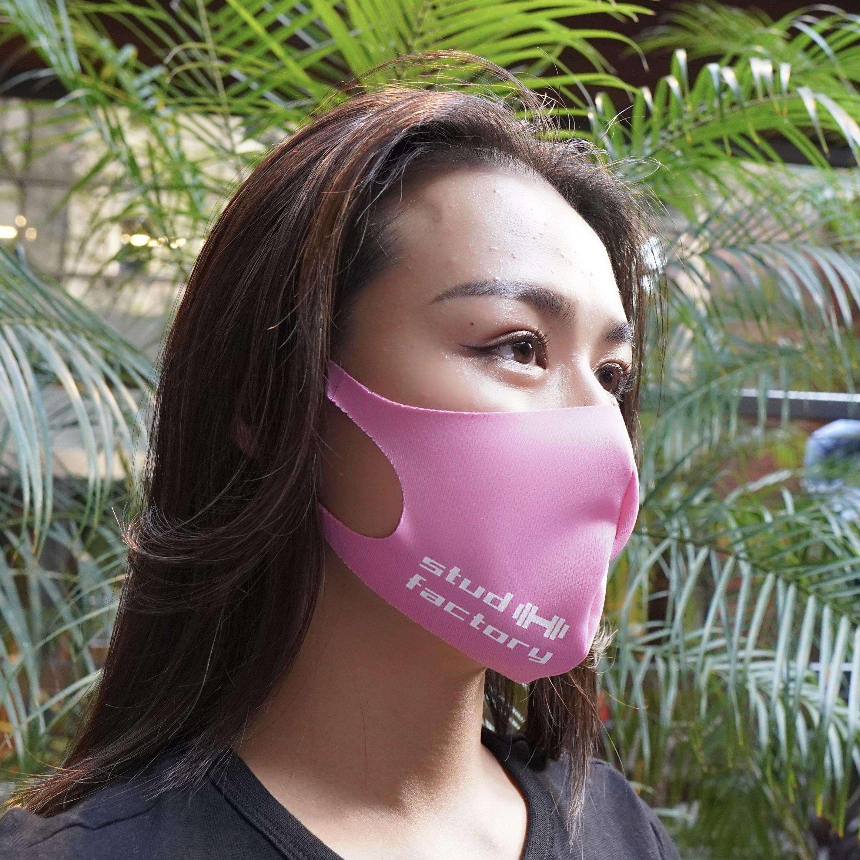 LADIES dry fit mask   (PINK)