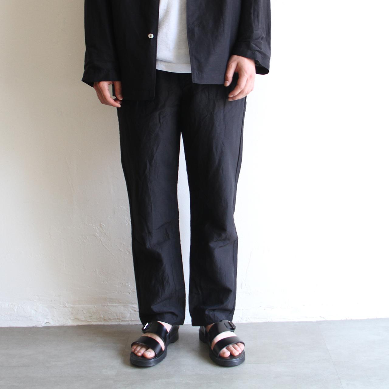 STILL BY HAND【mens】cupro linen pants