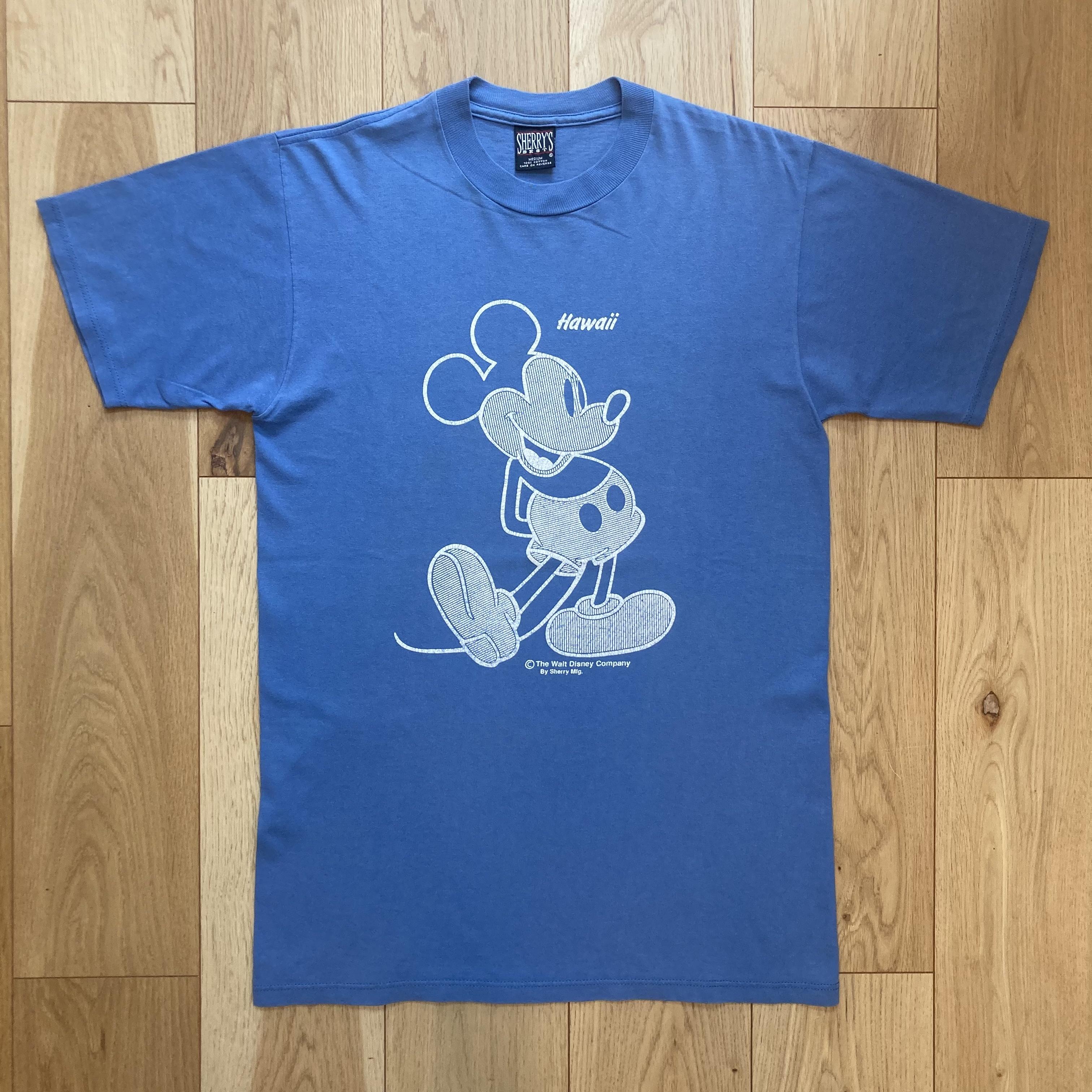 90's Sherry's Mickey Hawaii Tee <MADE IN USA>
