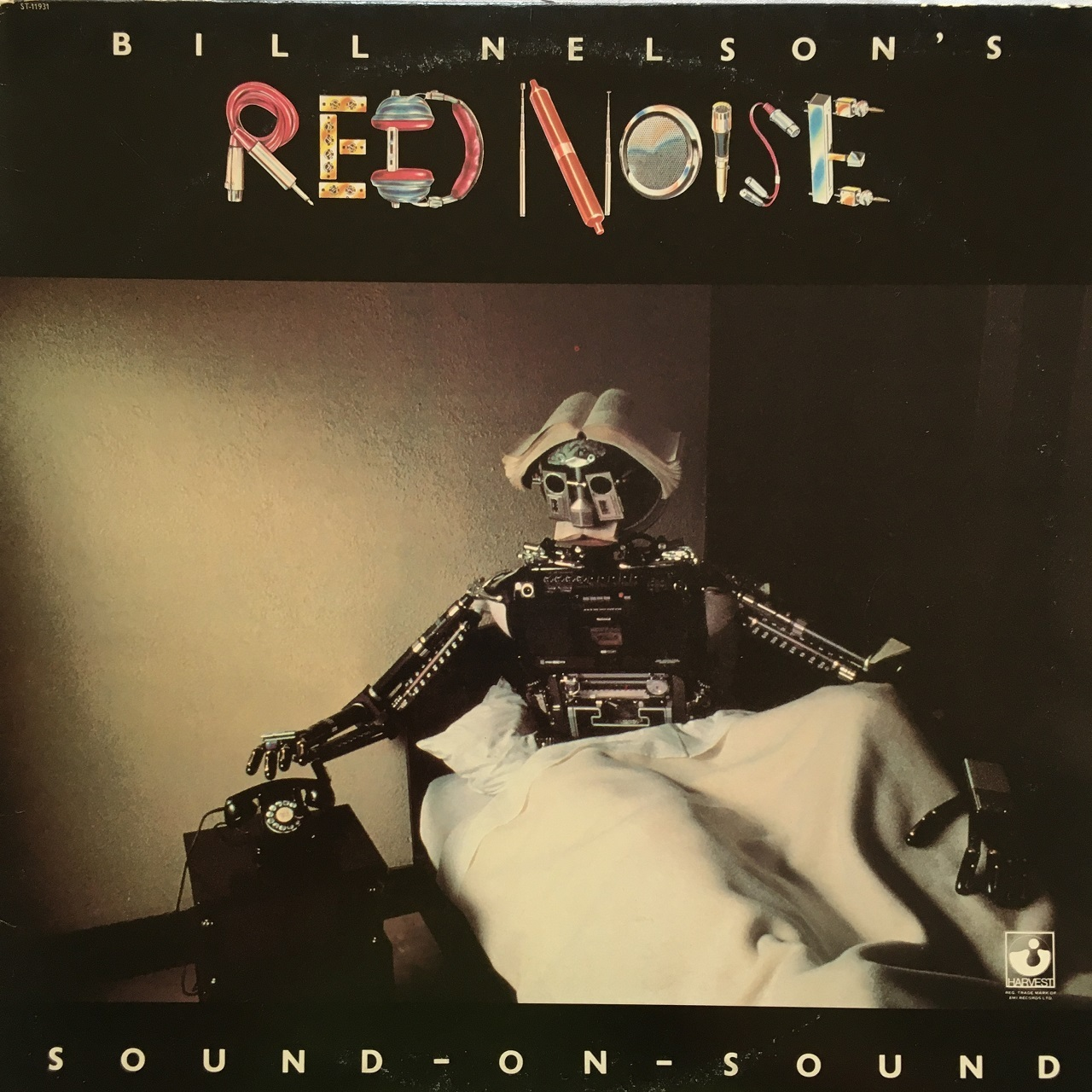【LP・米盤】Bill Nelson's Red Noise /  Sound On Sound