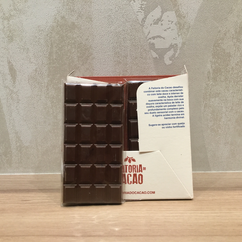 【Feitoria do Cacao/フェイトリアドカカオ】ミルク タンザニア60%シープミルク