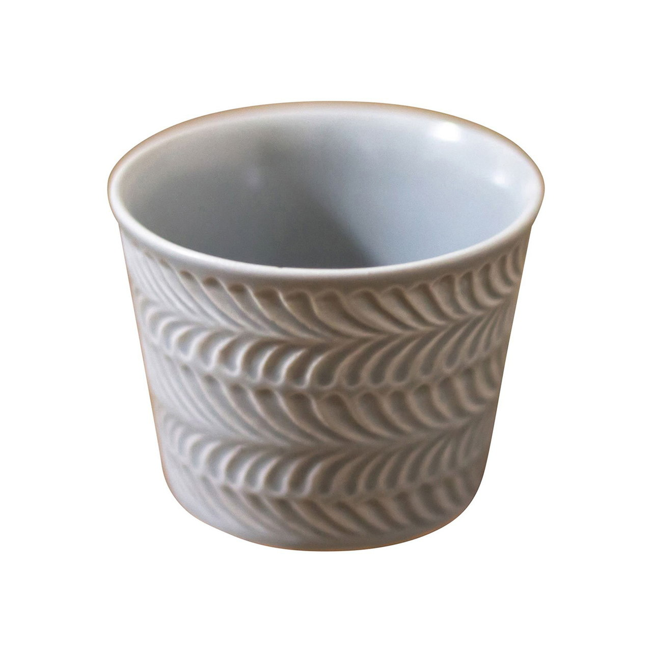 波佐見焼 翔芳窯 ローズマリー マルチカップ 約8cm 200ml マットグレー 33404