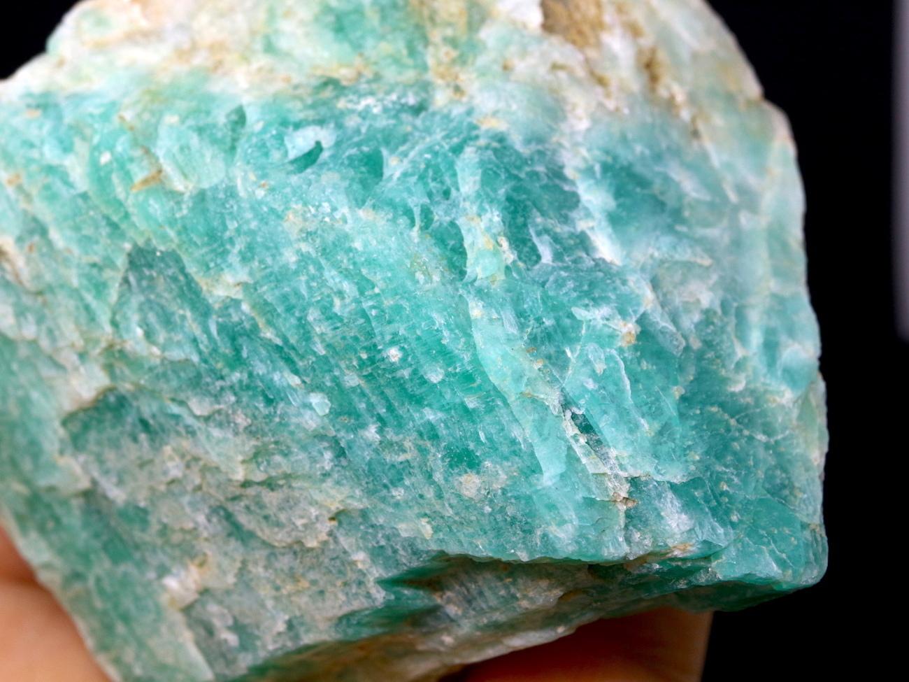アマゾナイト モザンビーク産 原石 156,4g AZ0025 天河石(てんがせき) 鉱物 天然石
