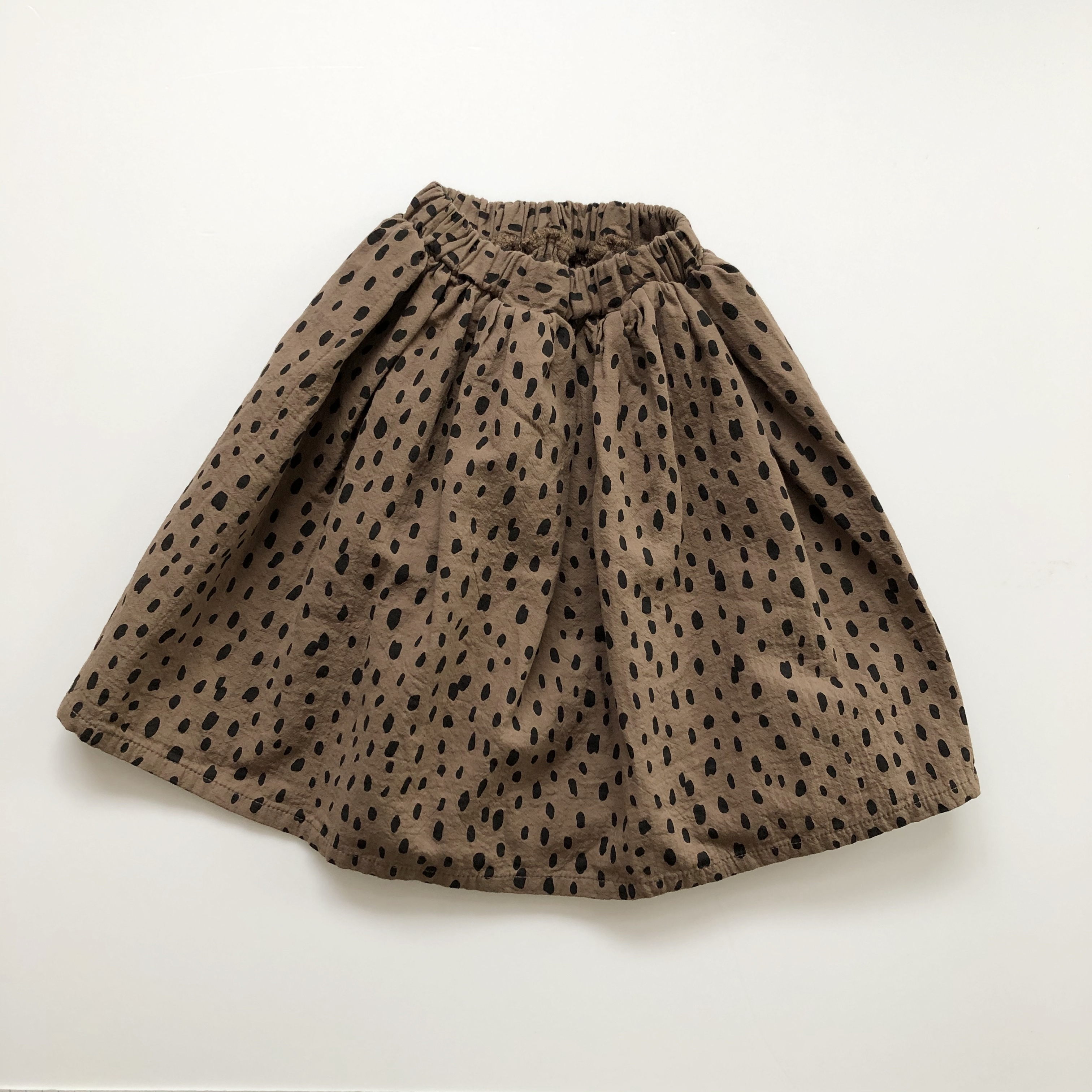 NO.959 leopard skirt  〈 Jr.size 〉
