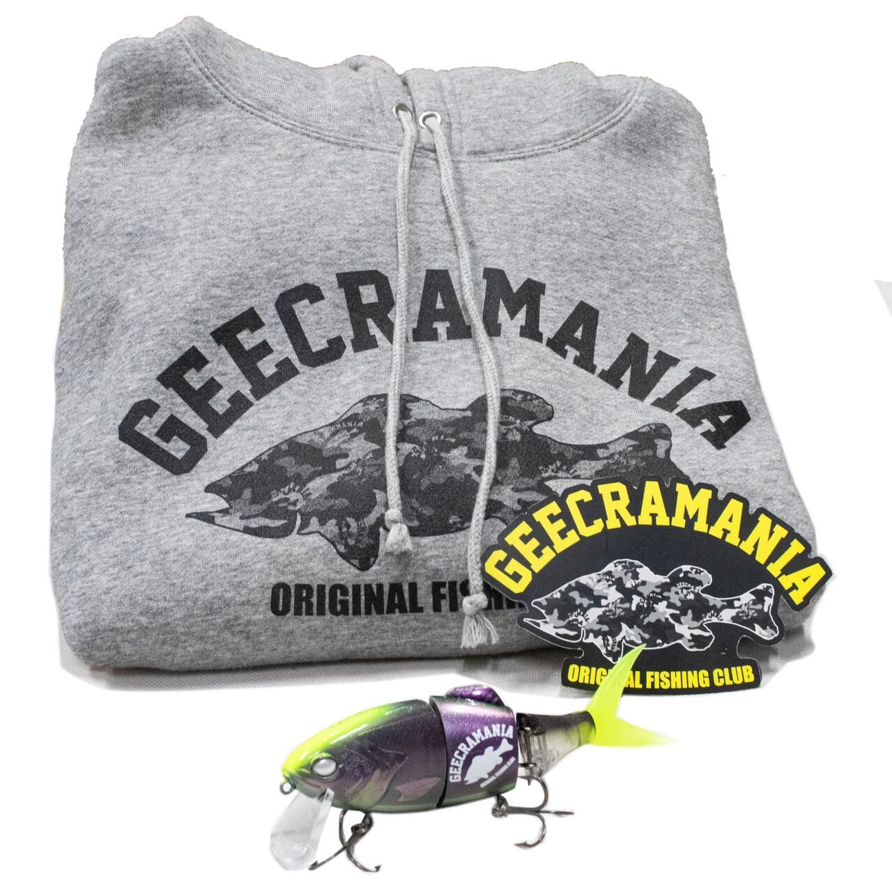 【bassmania×GEECRACK】GEECRAMANIA ハロウィン リミテッド SET  [GRY] 【限定】[10月下旬配送][同梱不可]