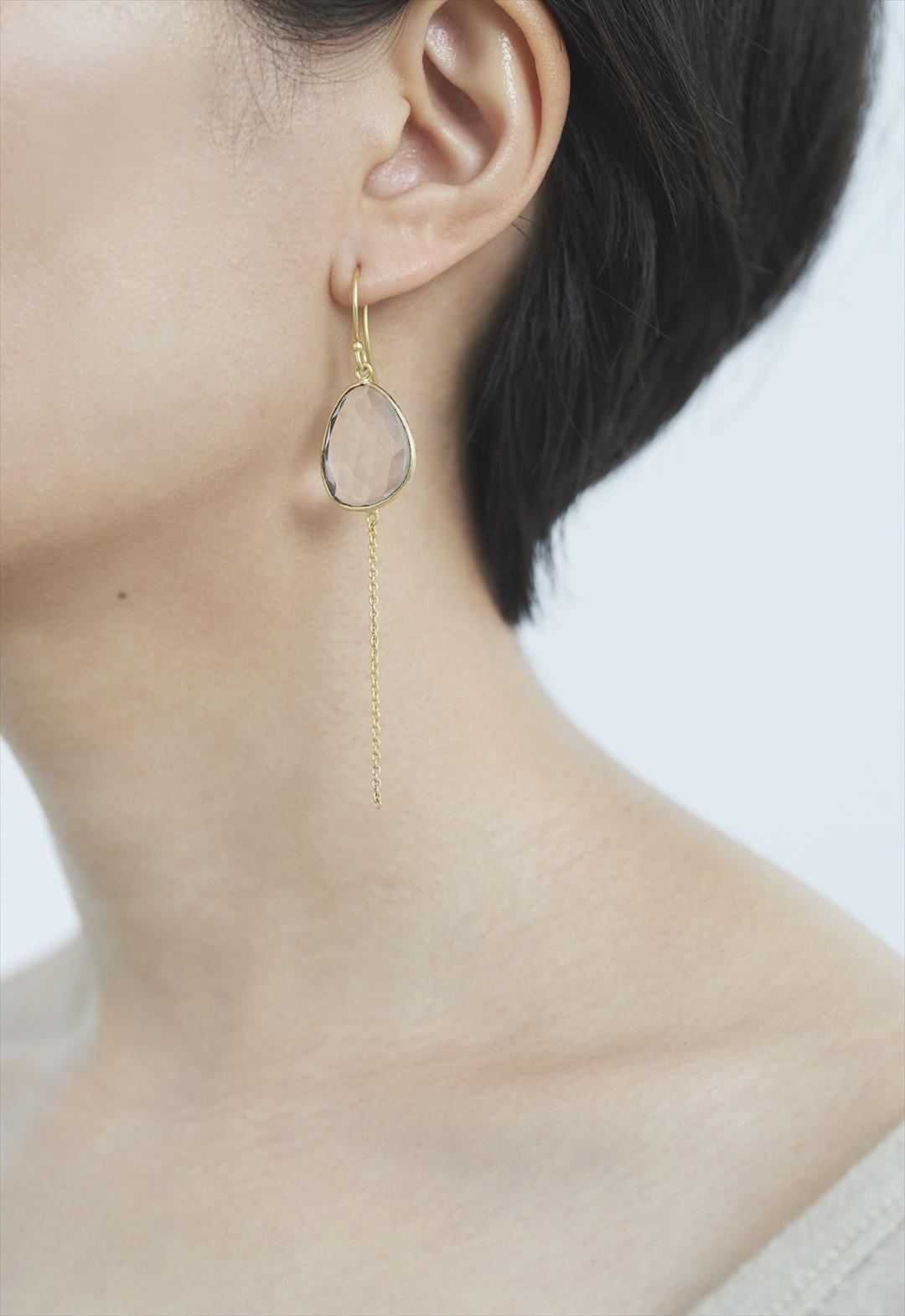 water drop pierce Gold