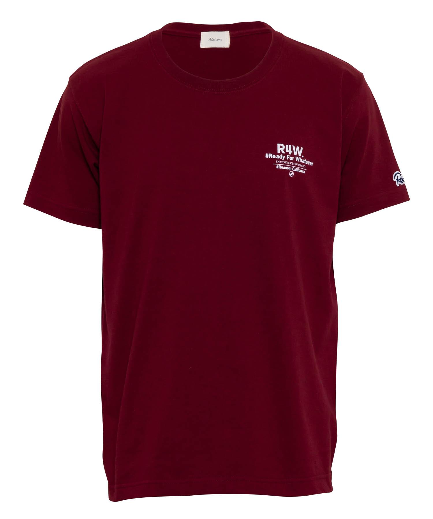 R4W MESSAGE PRINT T-shirt[REC373]