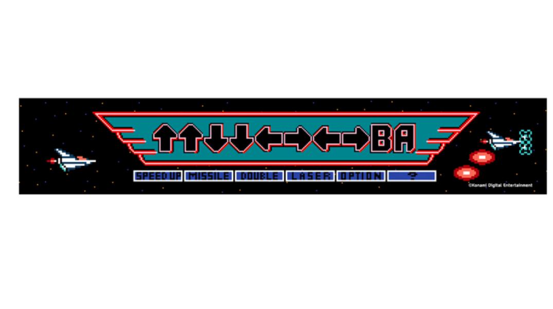 グラディウス ↑↑↓↓←→←→BA フル装備タオル / INDOR