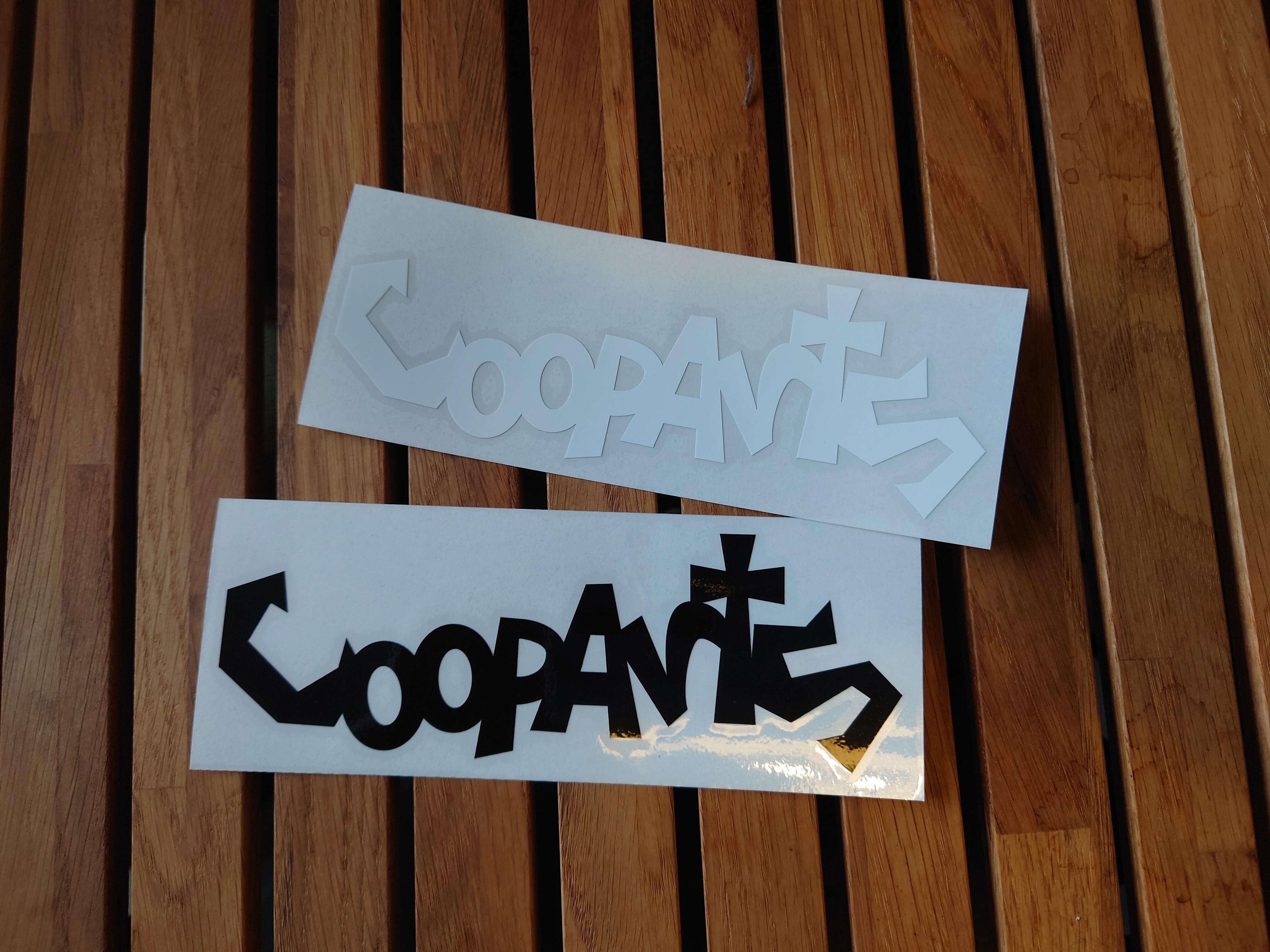 C.OOPARTS フック型 ステッカー(一枚)