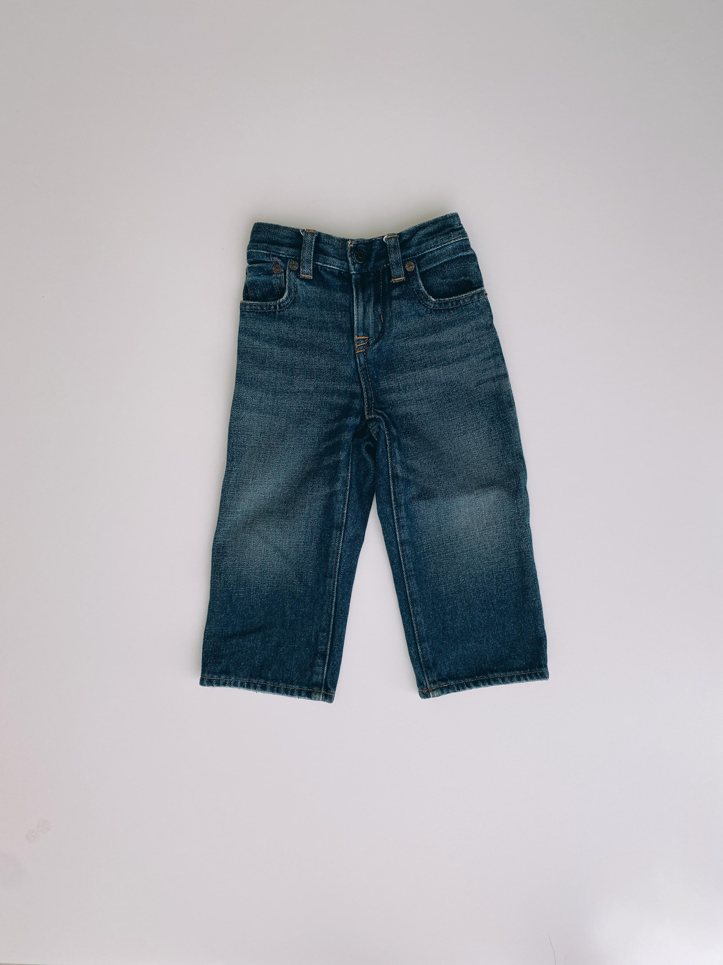 (KD118)90cm polo Ralph Lauren denim pants