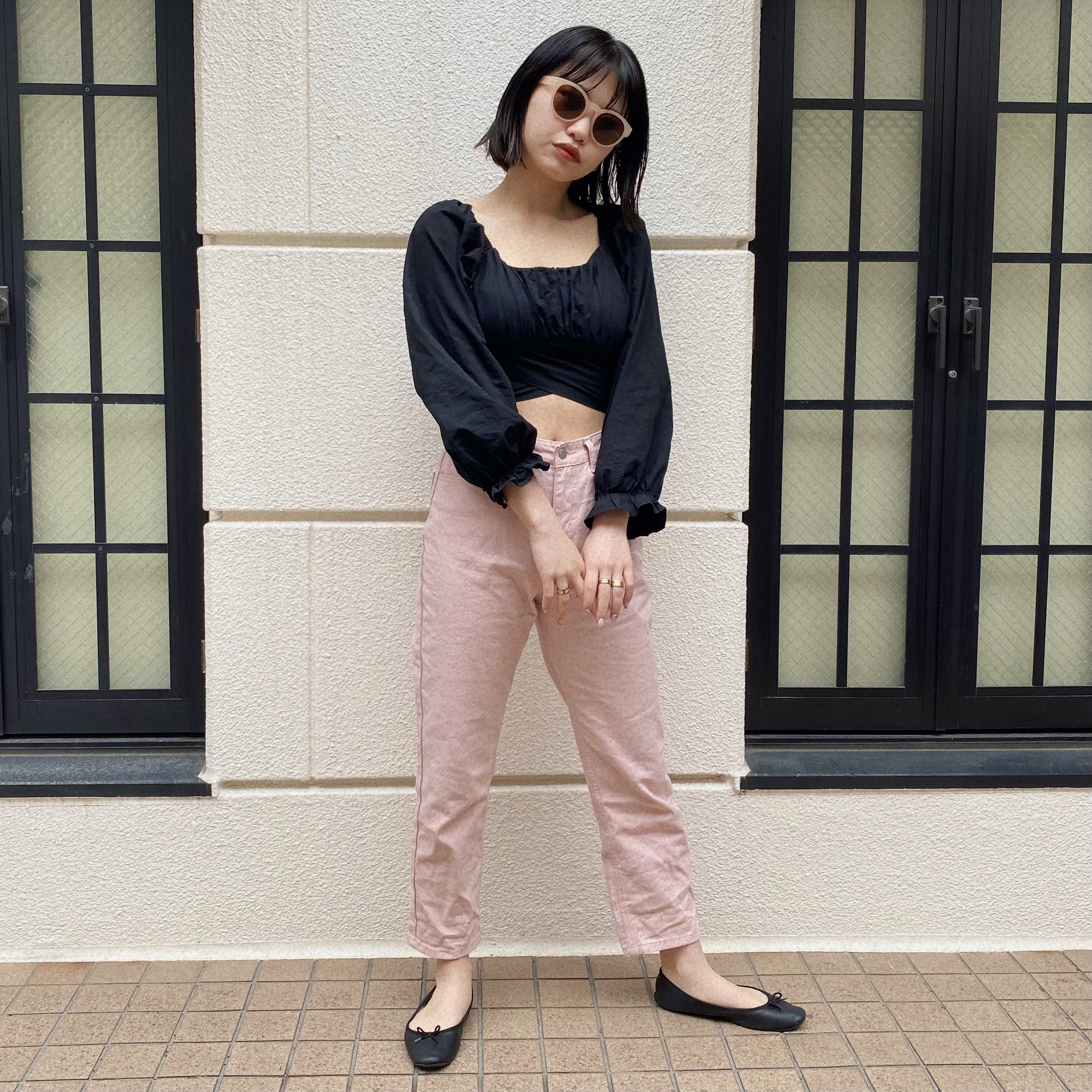 【Belle】everyday pink pants