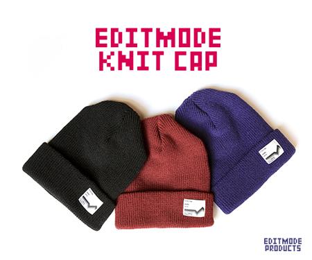EDITMODE ニットキャップ(ENJI) / EDIT MODE