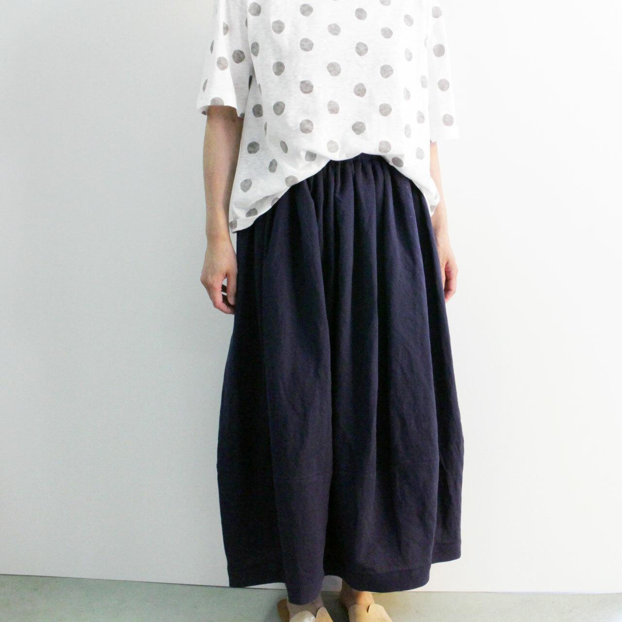 YARRA (ヤラ) YR-92-099 綿麻バルーン風スカート