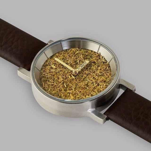 森の腕時計(Silver Forrest)