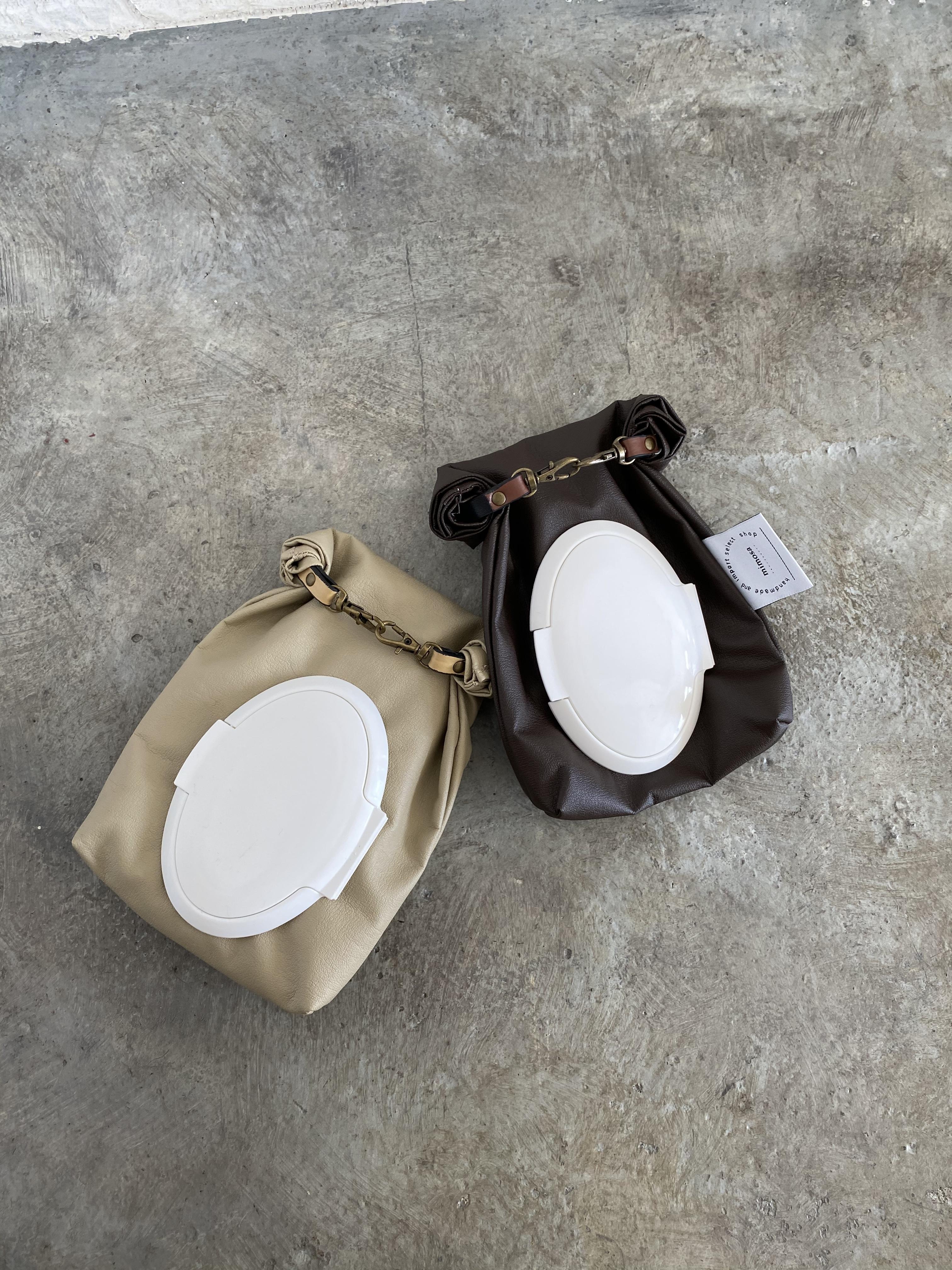 【mimosa original】portable wet wiper case