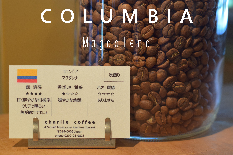 浅煎り/コロンビア マグダレナ 1kg