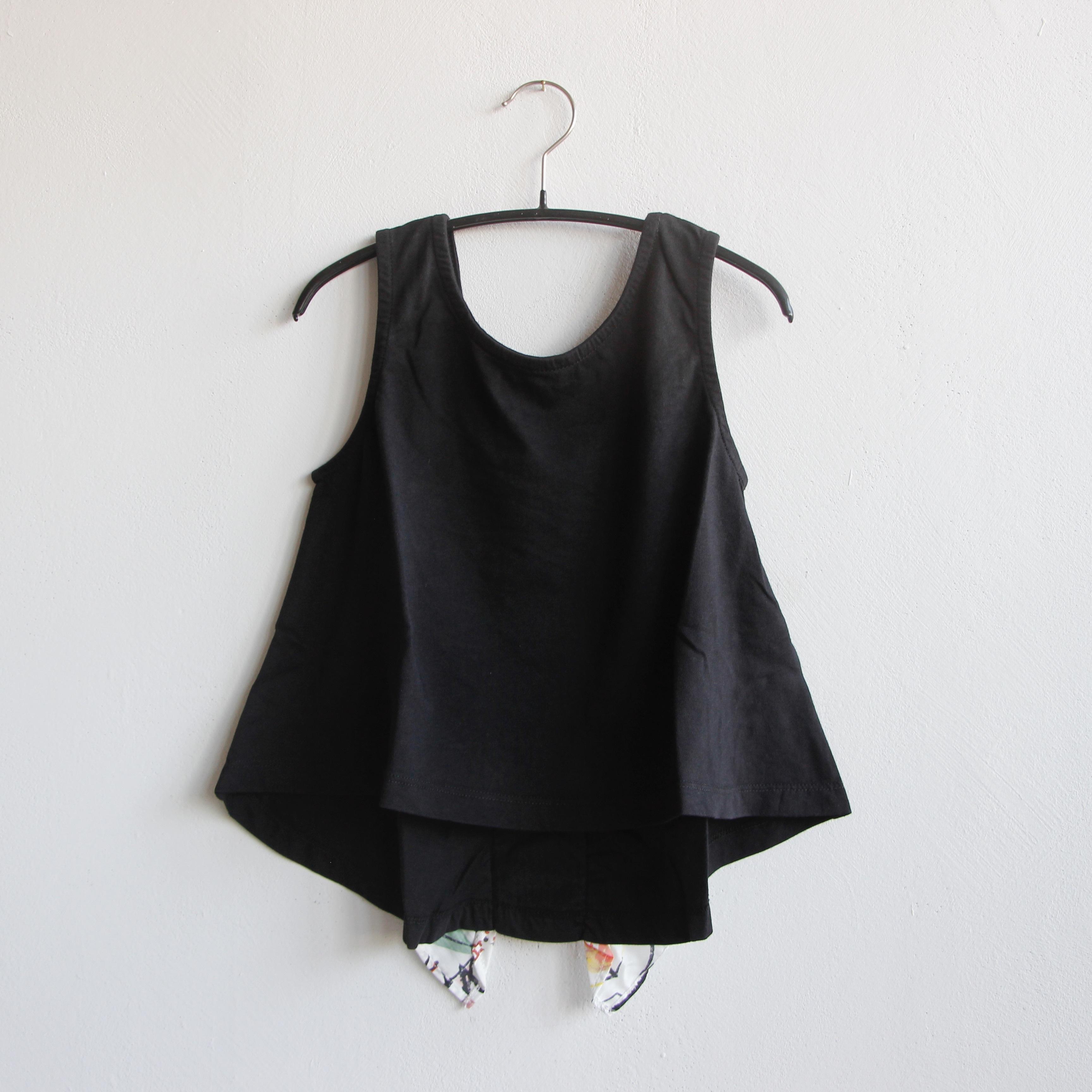 《WOLF & RITA 2021SS》EMÍLIA t-shirts / BLACK