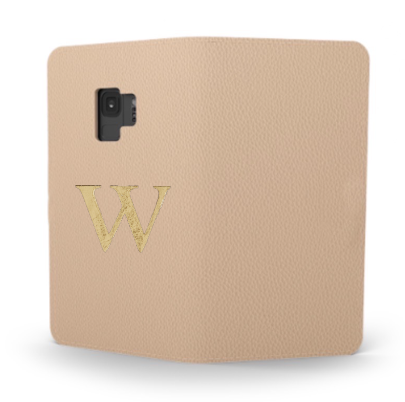 Galaxy Premium Smooth Leather Case (Nude) : Book Cover