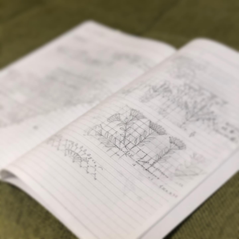 ✦編み図 郵送✦ ひだまりショール 大判編み図付き