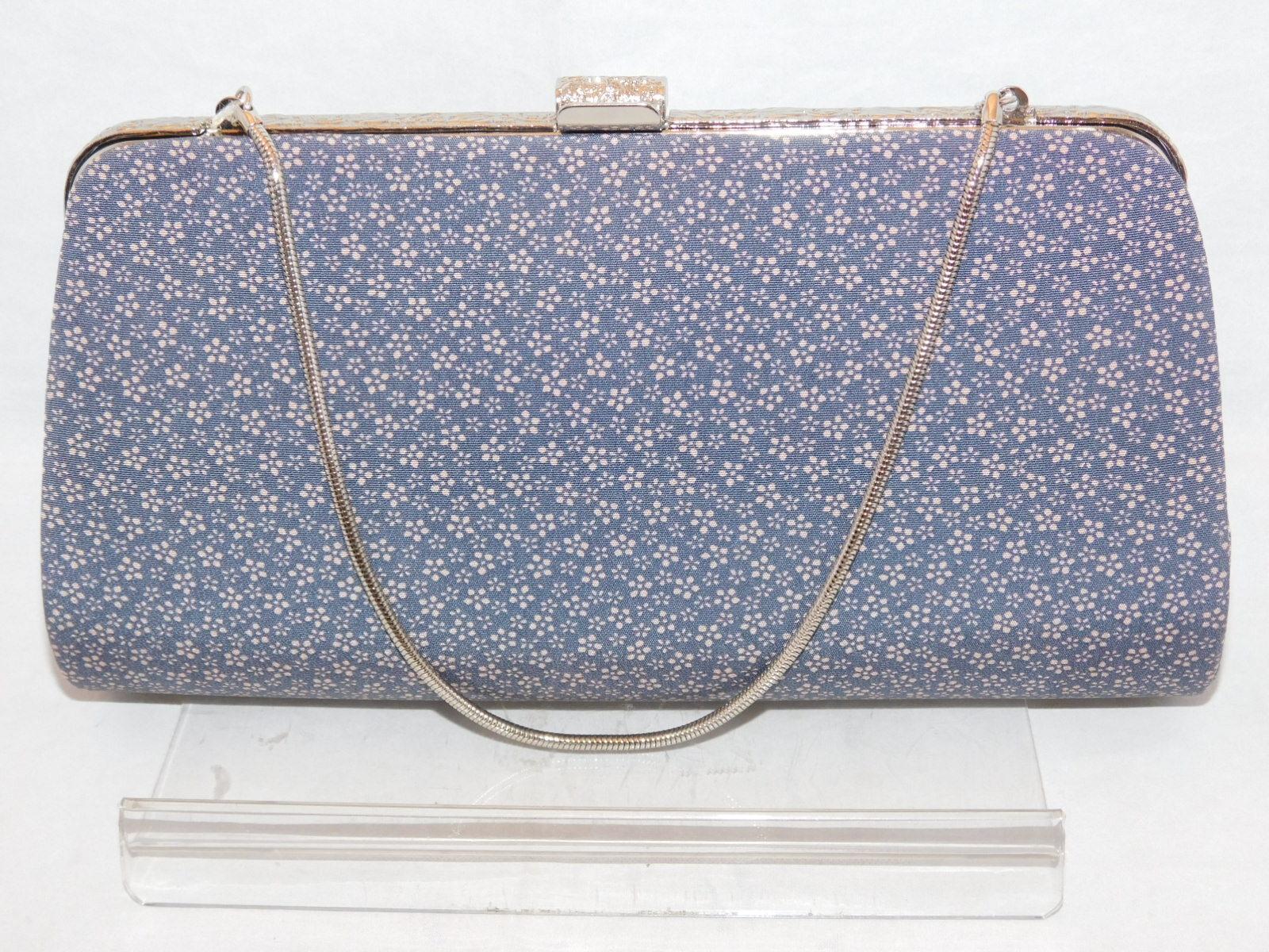 小花のビンティージ抱えバックKimono fabric vintage bag (made inJapan)