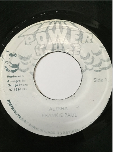 Frankie Paul(フランキーポール) - Alesha【7'】