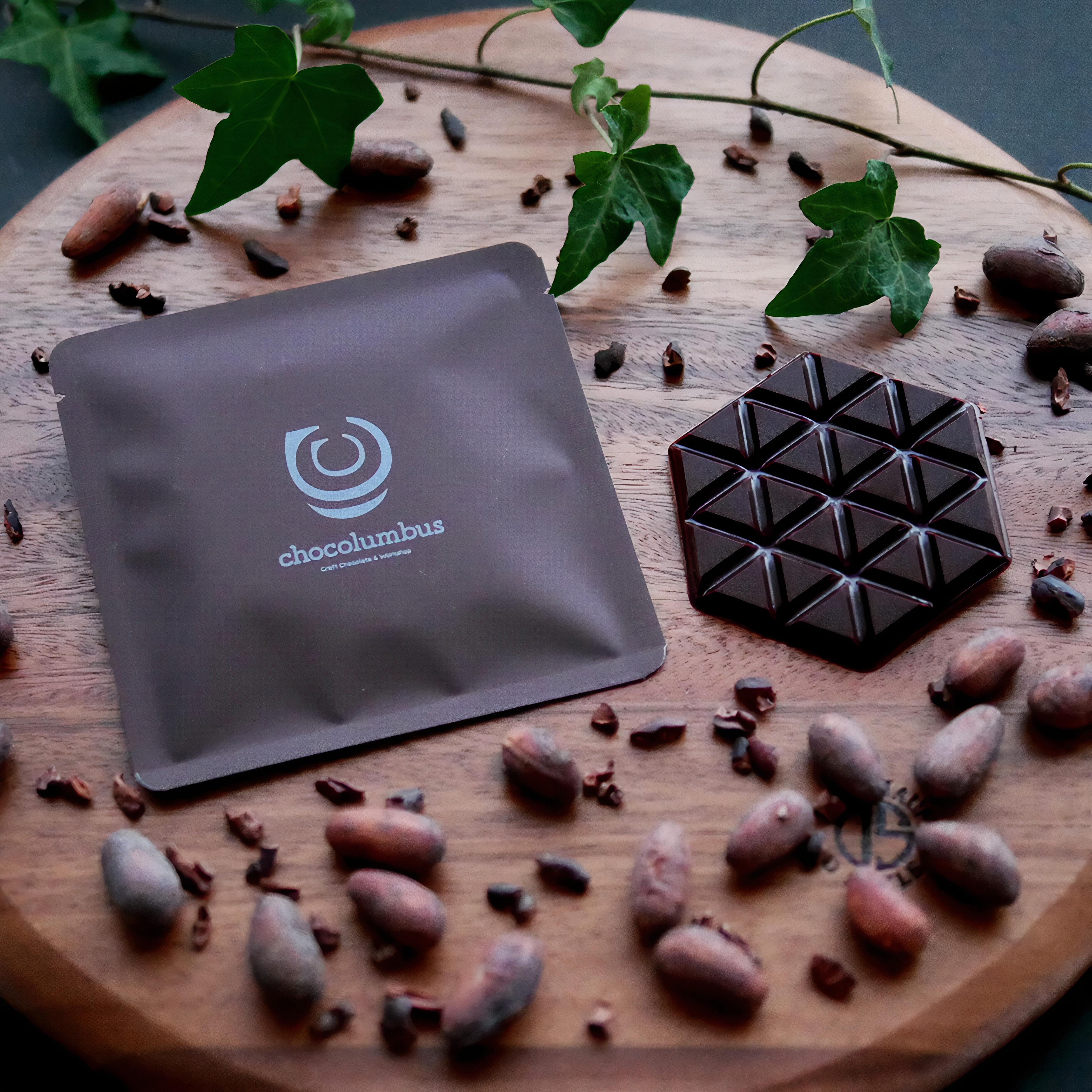 チョコロンブス/ペルー ピウラ cacao73% チョコレート ミニサイズ