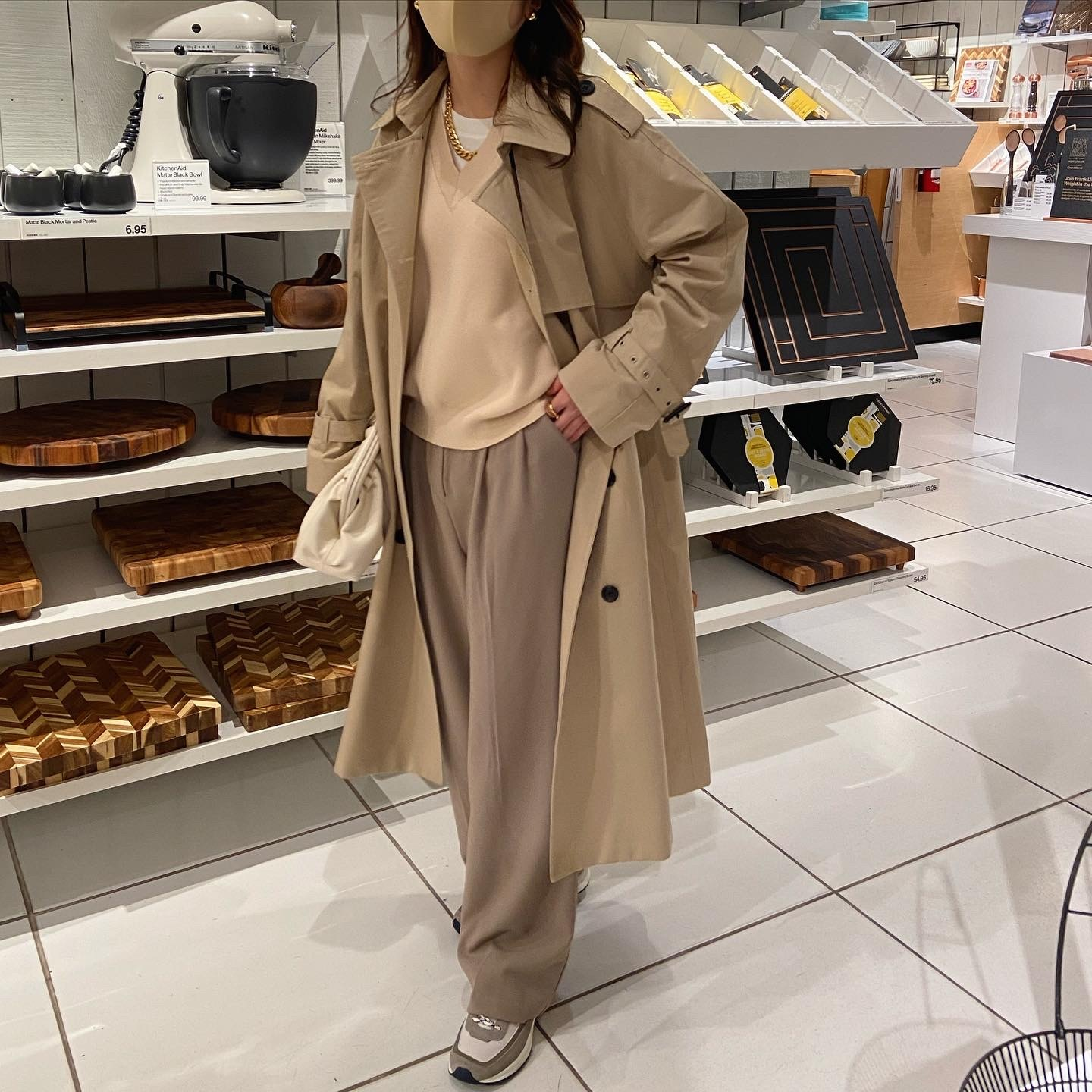 DAYNYC long trench coat