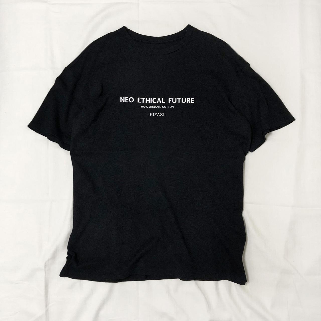 """NEO ETHICAL FUTURE"" ORGANIC COTTON BIG T-SHIRT 【受注生産】"