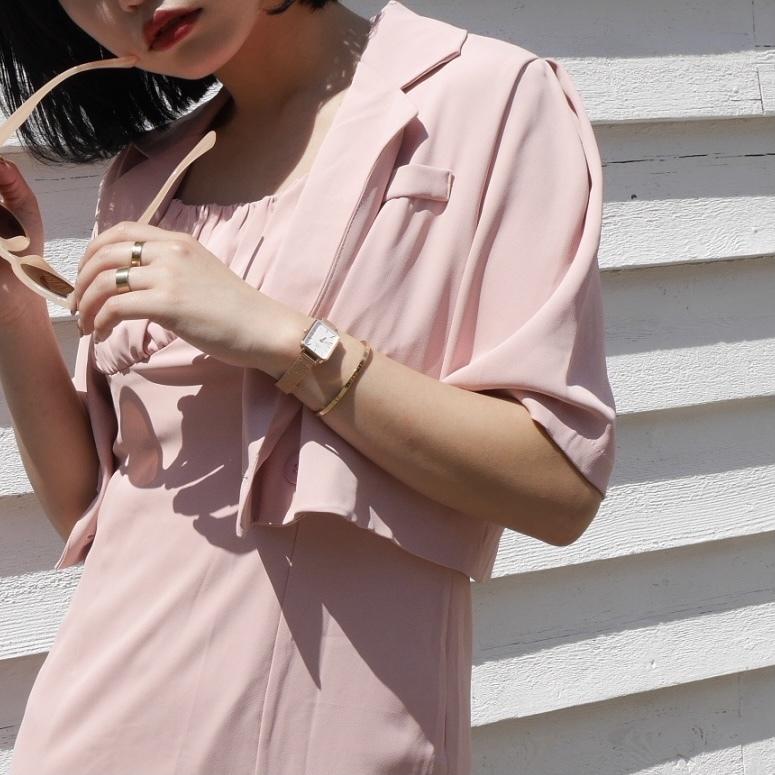 【Belle】classy setup / pink