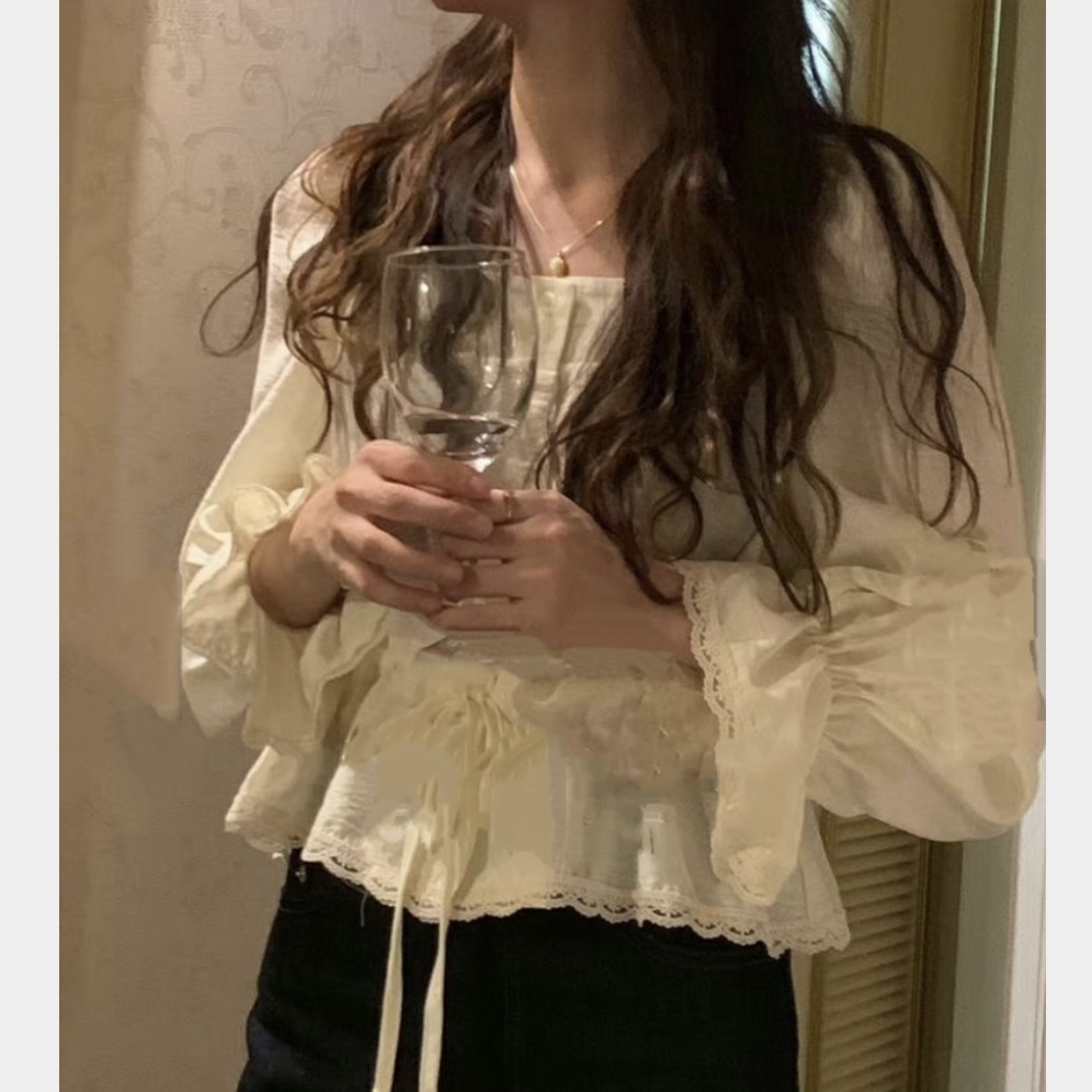french blouse[2103-19]