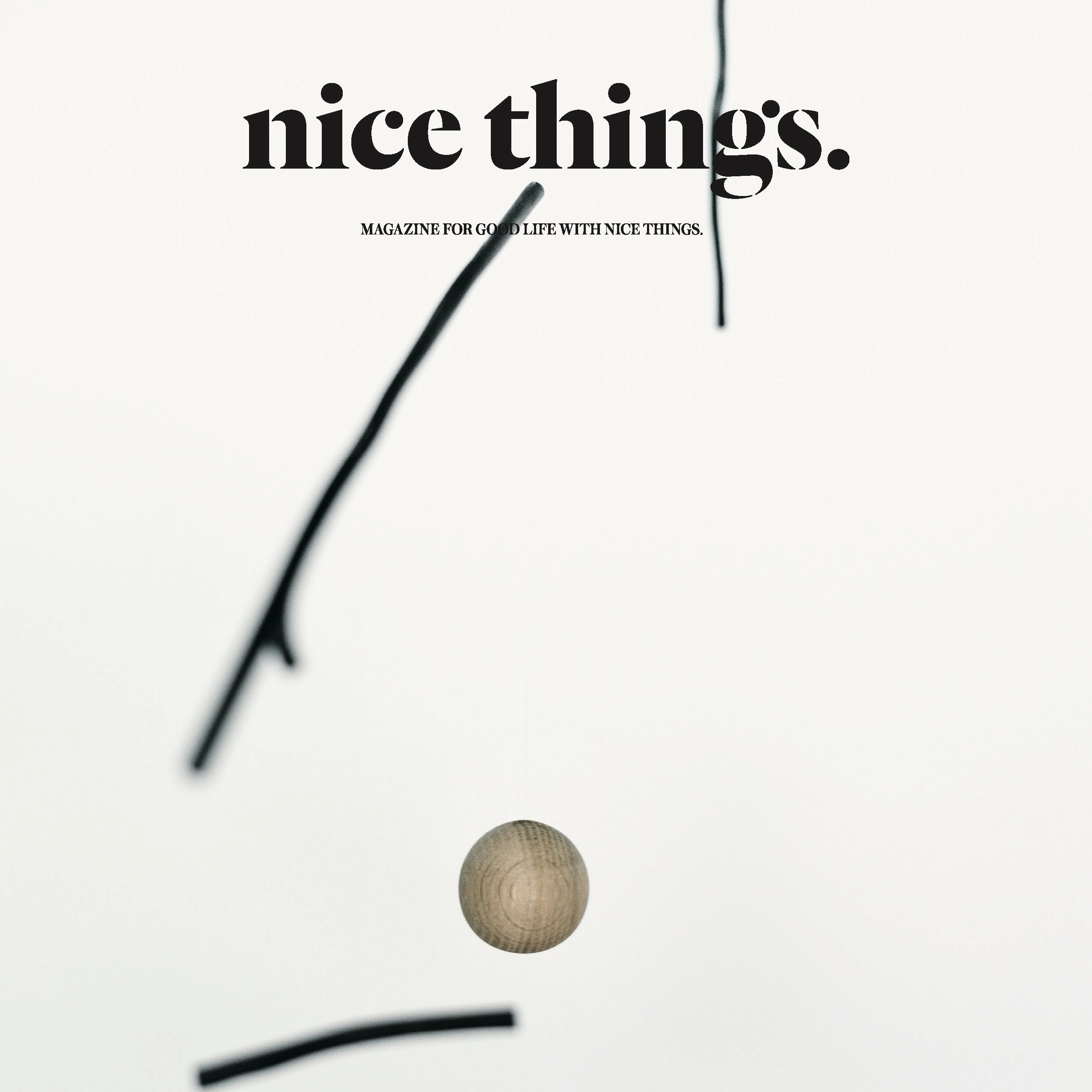 nice things. ISSUE 65, 復刊4号