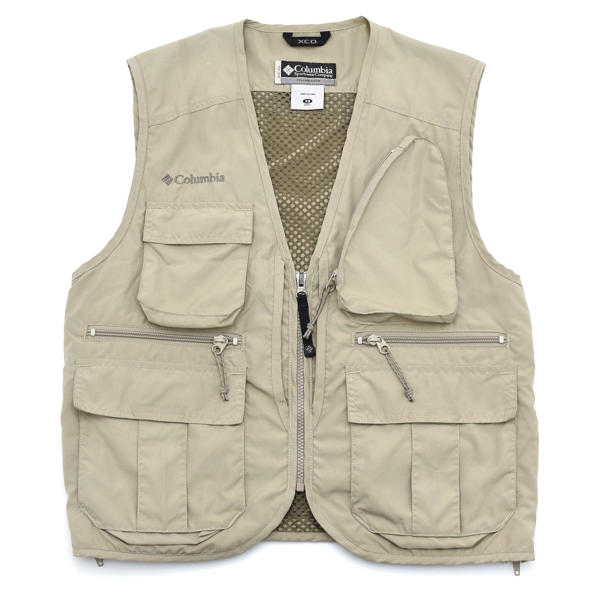 Columbia X.C.O fishing vest / utility vest