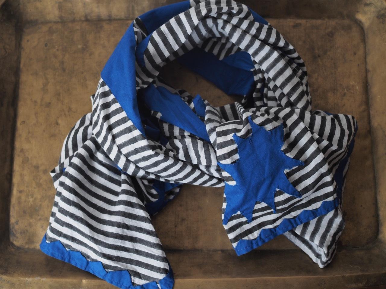 156ri029 patchwork star shawl