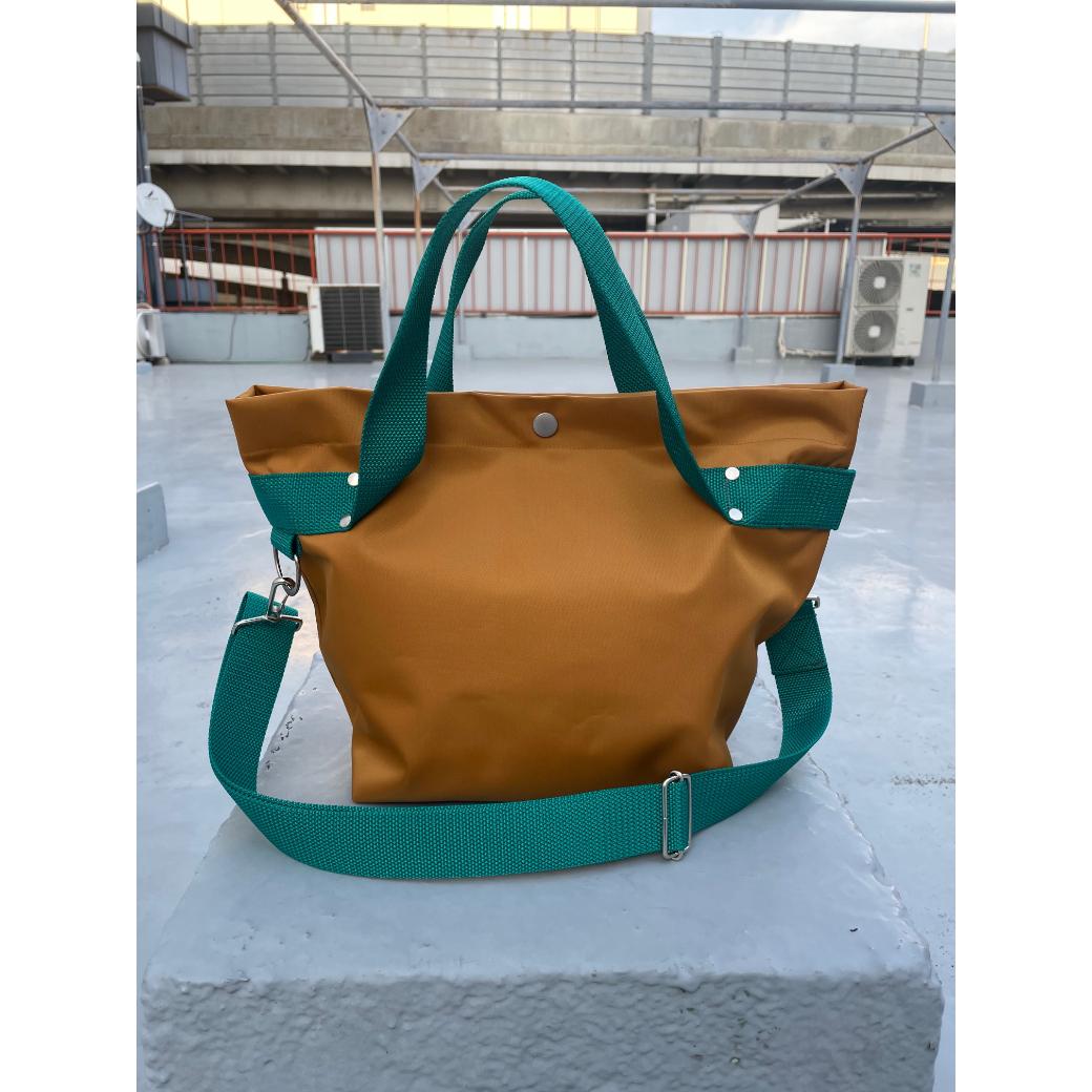 【sandglass】duffle bag(S)gold / 【サンドグラス】ダッフルバッグ(S)本体ゴールド