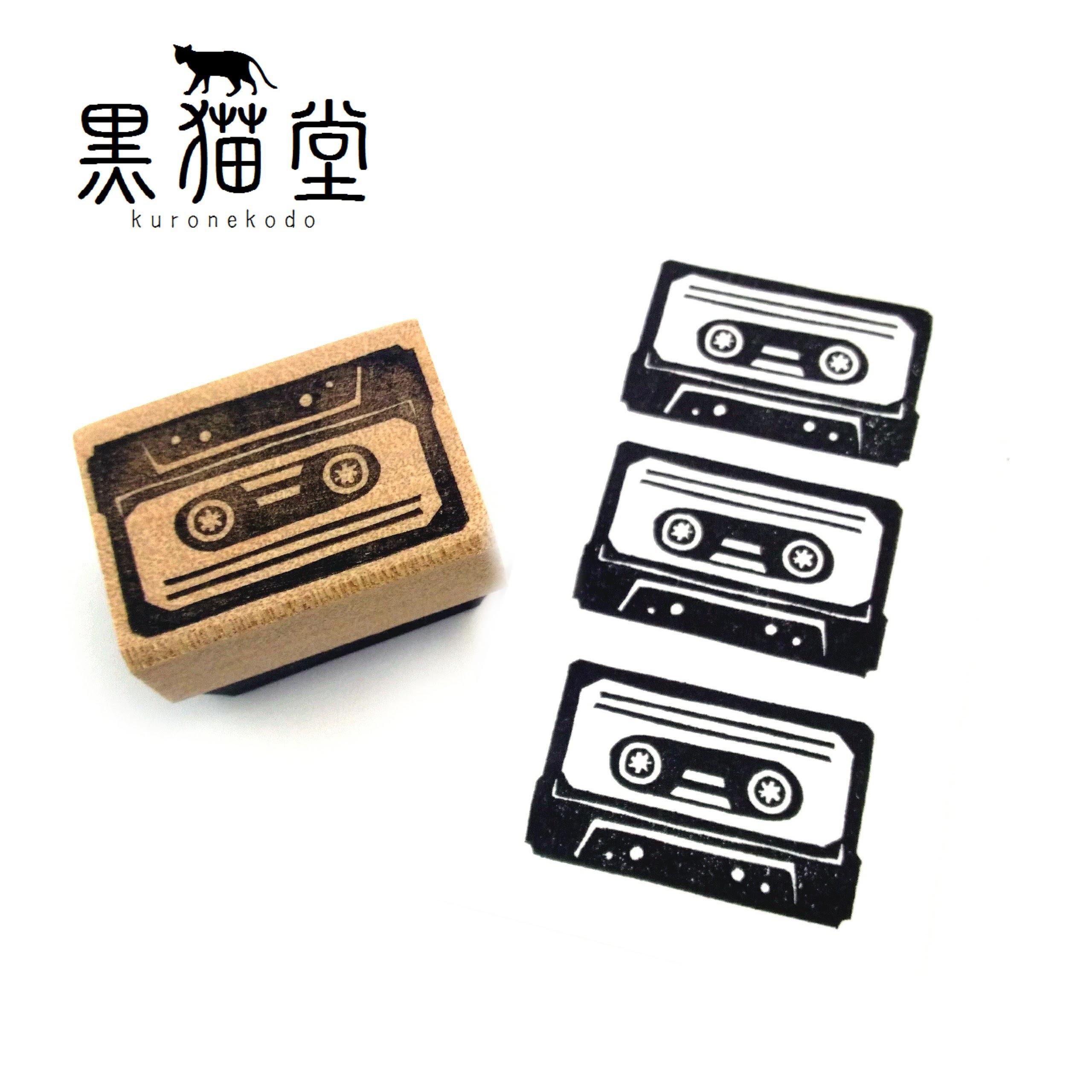 レトロなカセットテープ(大)