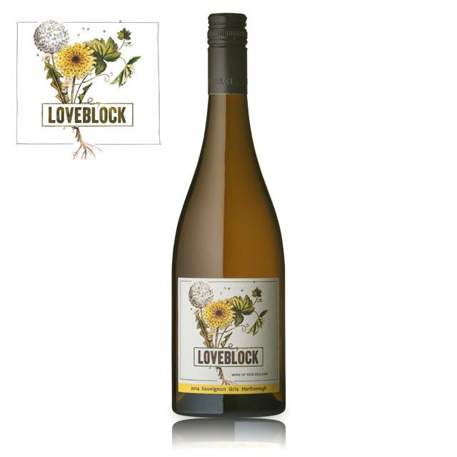 LOVEBLOCK Marlborough Sauvignon Gris 2014 / ラブブロック マールボロ ソーヴィニヨン グリ