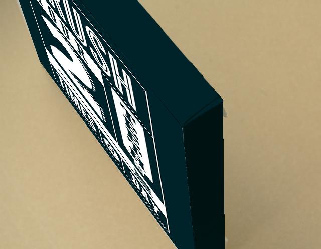 Brush キャンバスプリント(B3サイズ・木製パネル貼り)