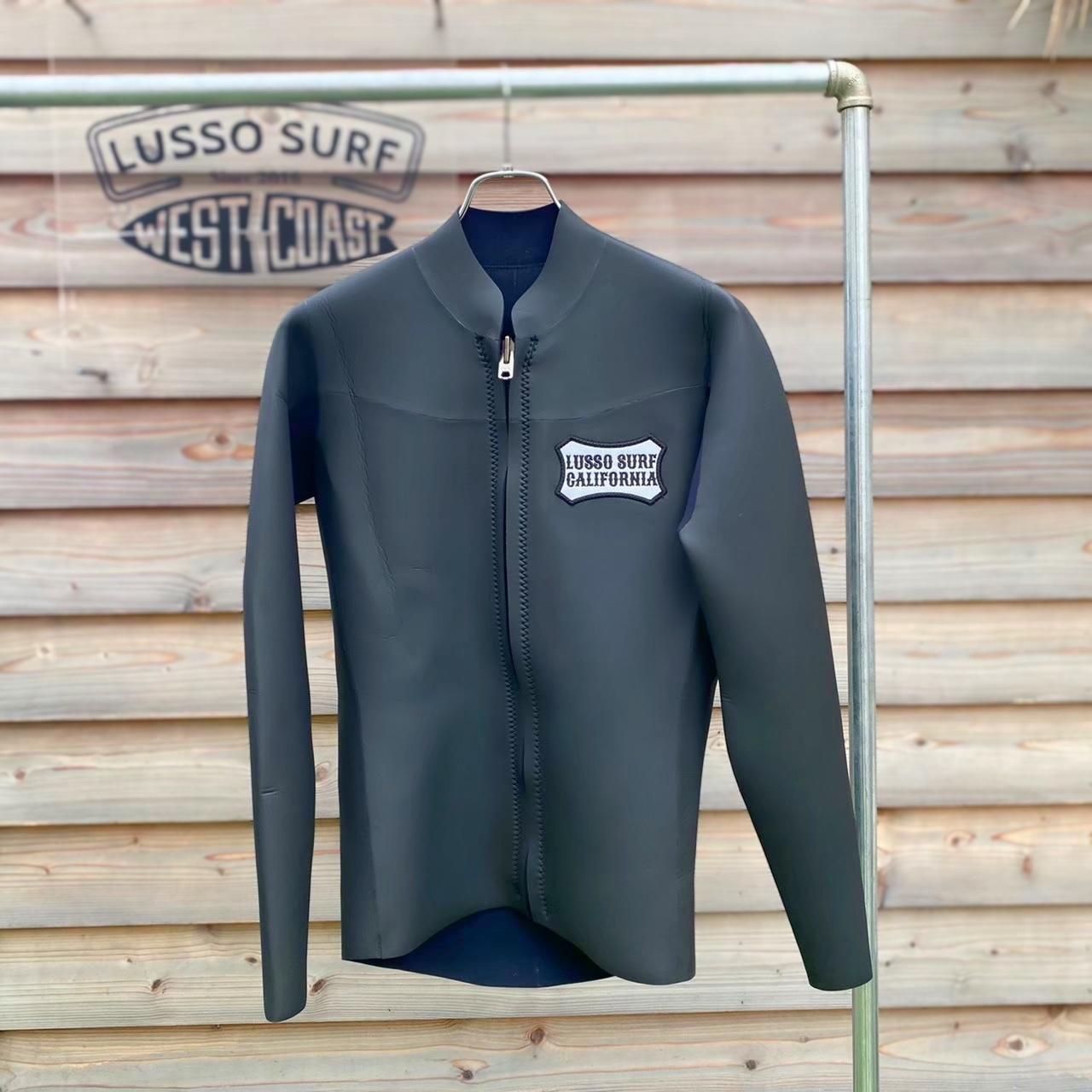 【フルオーダー用】Wetsuit front zip Long Sleeve jacket【Men】