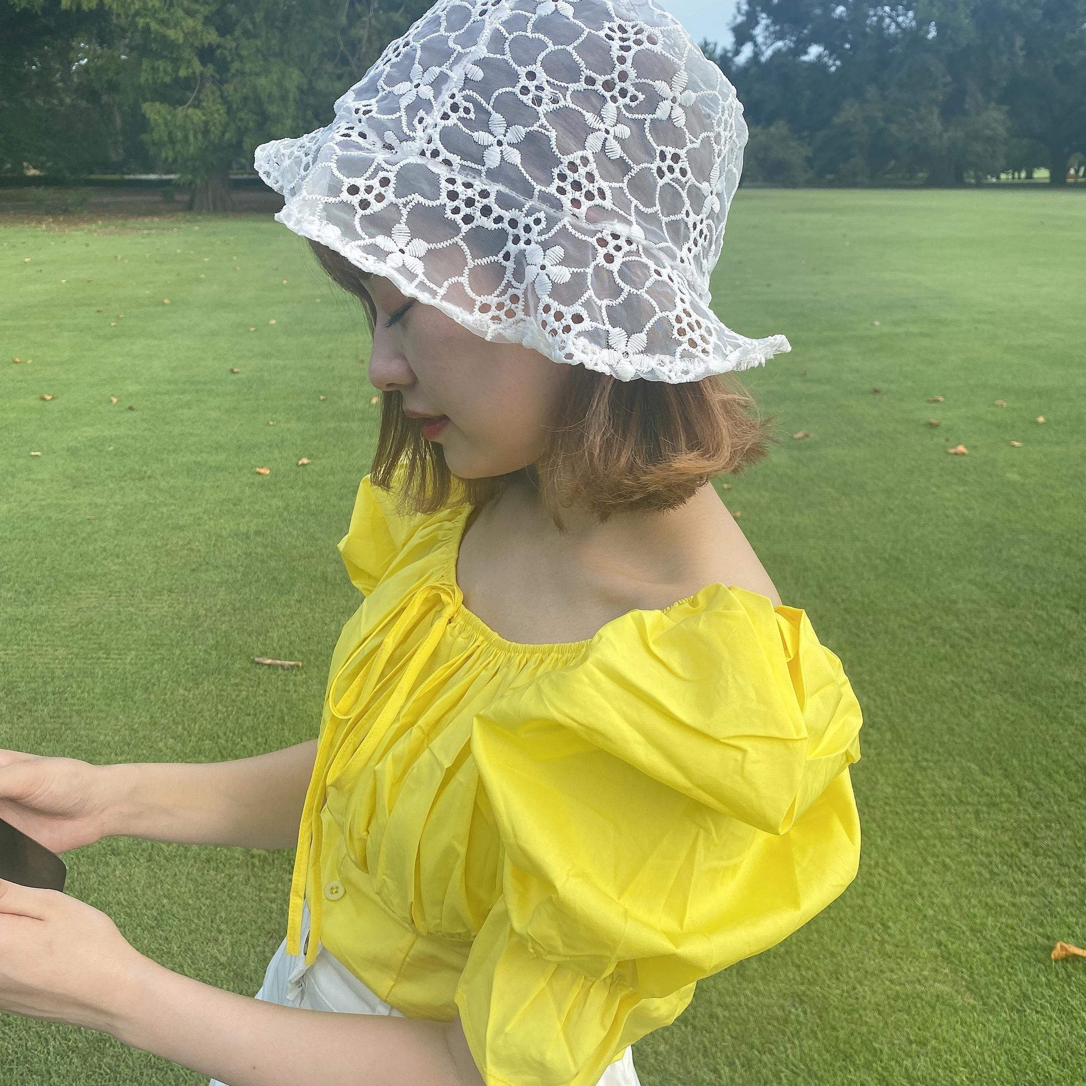 【LAST2】lace hat