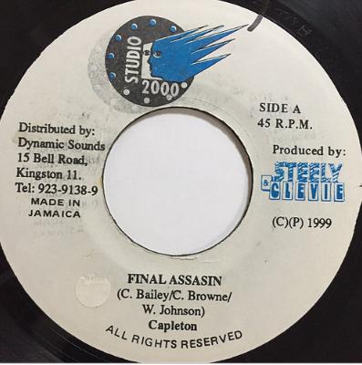 Capleton(ケープルトン) - Final Assasin【7'】