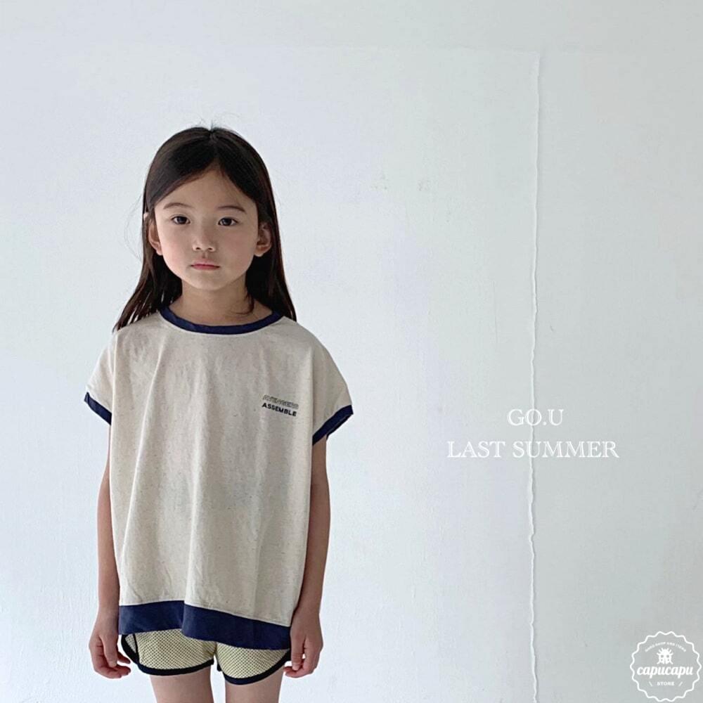 «sold out»«ジュニア» go.u vintage sleeveless 2colors ヴィンテージノースリーブ ジュニアサイズ