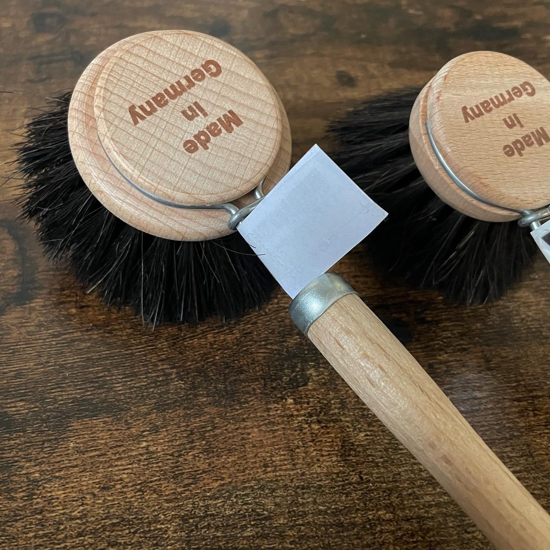 """ Washing kitchen brush【L】 / ウォッシングキッチンブラシ【L】ソフト ブラック """
