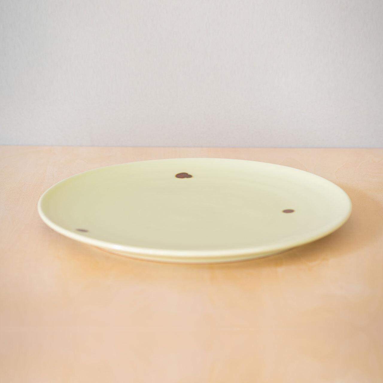 飛黄磁 プレート(24cm)【予約販売】