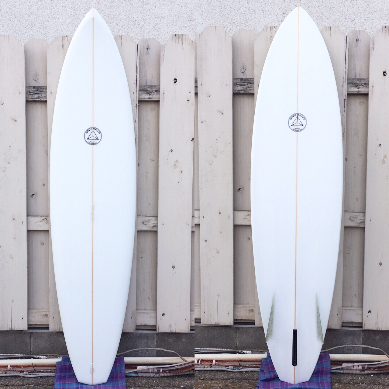 """Campbell Brothers Surfboards """"Russ Short Model"""" 7'2"""""""